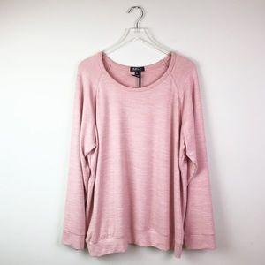 NEW Buffalo David Bitton Pink Sweatshirt Size XXL
